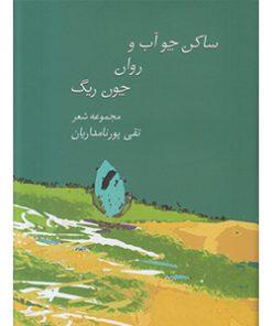 کتاب ساکن چو آب و روان چون ریگ تقی پورنامداریان نشر سخن